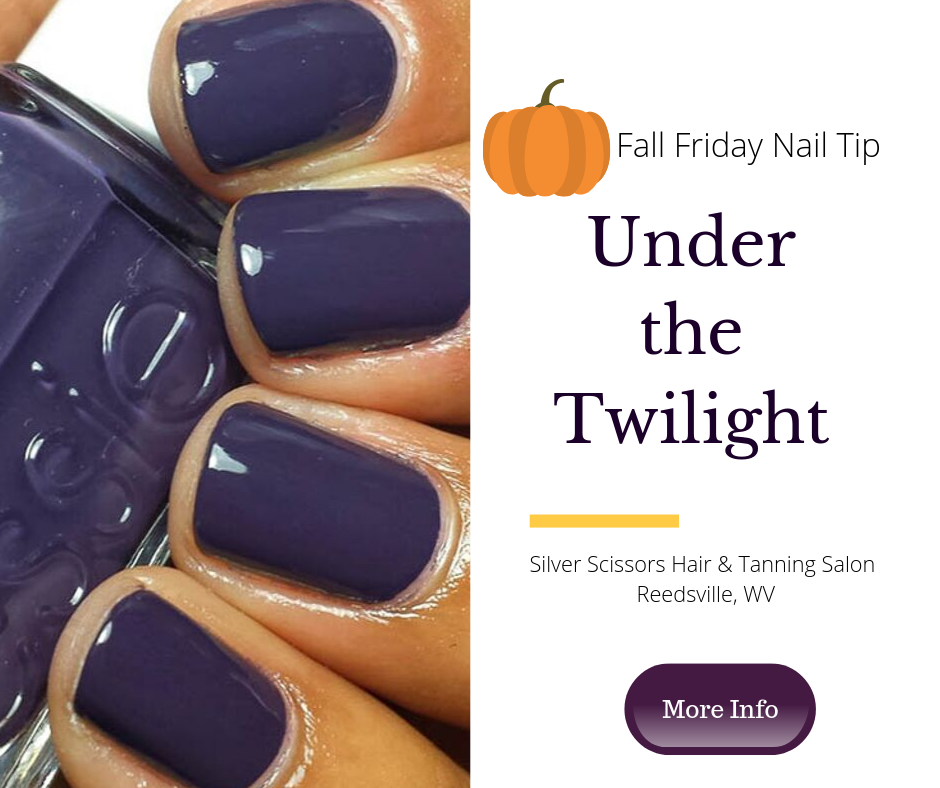 Silver Scissors MUST-TRY FALL NAIL COLORS